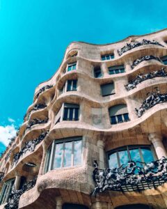 The undulating beauty of La Pedrera.