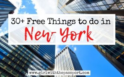 30 Amazing Free Things to do in NYC!