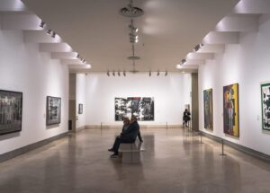 Some of the amazing, contemporary art you'll find in Madrid, Spain.