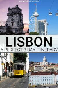 Understand how to plan the perfect Lisbon 3 day itinerary with these Lisbon travel tips. You'll figure out what to do in Lisbon for 3 days and learn about some of Lisbon's top attractions like Belem Tower, Rossio, MAAT, Lisbon Cathedral, Tram 28, etc. Plus, you'll discover some of the best places to eat in Lisbon and learn how to prepare for the Lisbon vacation of a lifetime. #Lisbon #Lisbonitinerary #Lisbontravel #Portugal #WesternEurope