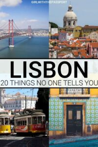 When planning Lisbon Portugal travel, you may be looking at Lisbon Portugal things to do and Lisbon Portugal food to eat. But, sometimes it's just as important to know what not to do as well as what to do when traveling to Lisbon, Portugal. So check out my travel hacks and travel tips for what NOT to do in Lisbon. #Portugal #Lisbon #TravelPortugal #Traveltips #Lisbontravel