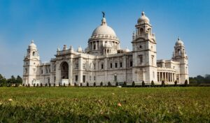 The beautiful Victoria Memorial in Kolkata, India.
