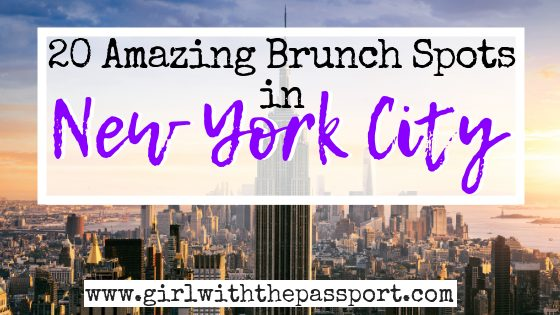 20 Fun NYC Brunch Spots that You'll Love!