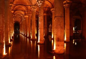 Embrace the creep factor of the cisterns in Copenhagen.