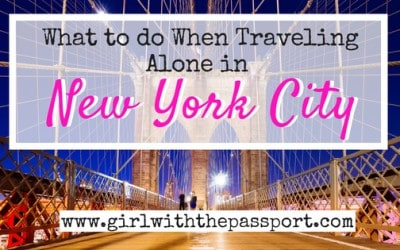 NYC Solo Travel: 20+ Things to do Alone in NYC