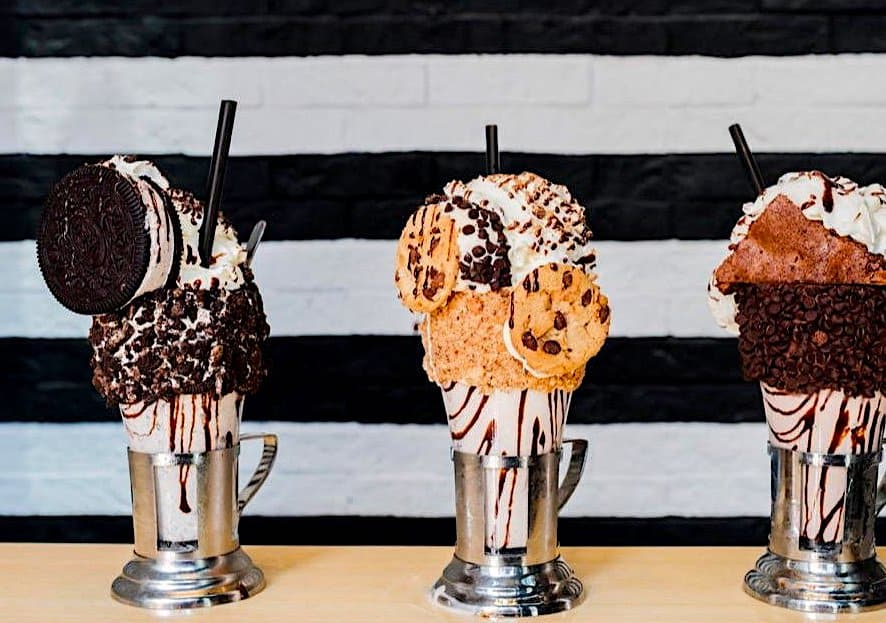 Don't Spend summer in NYC without getting a Black Tap Milkshake
