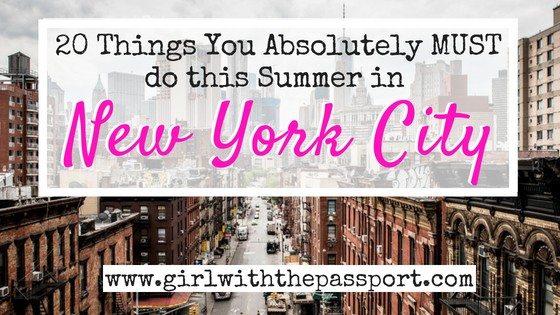 Stay Cool NYC: Fun Things to do in NYC in the Summer