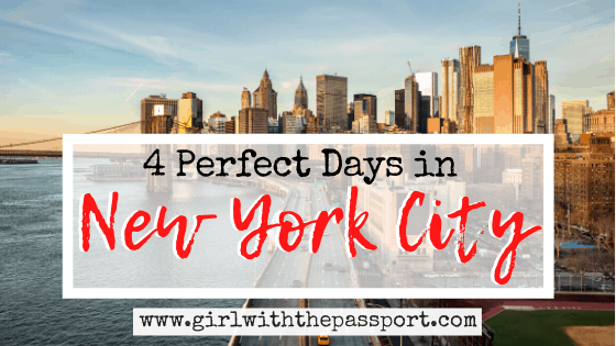 An Amazing 4 days in New York itinerary: The Ultimate Local's Guide to 4 Days in NYC