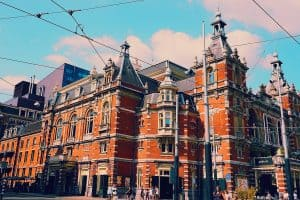 Skip the naked ladies and take pictures of fabulous Amsterdam architecture instead!