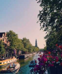 What is Amsterdam known for besides legal pot and prostitutes? Why, beautiful canals!