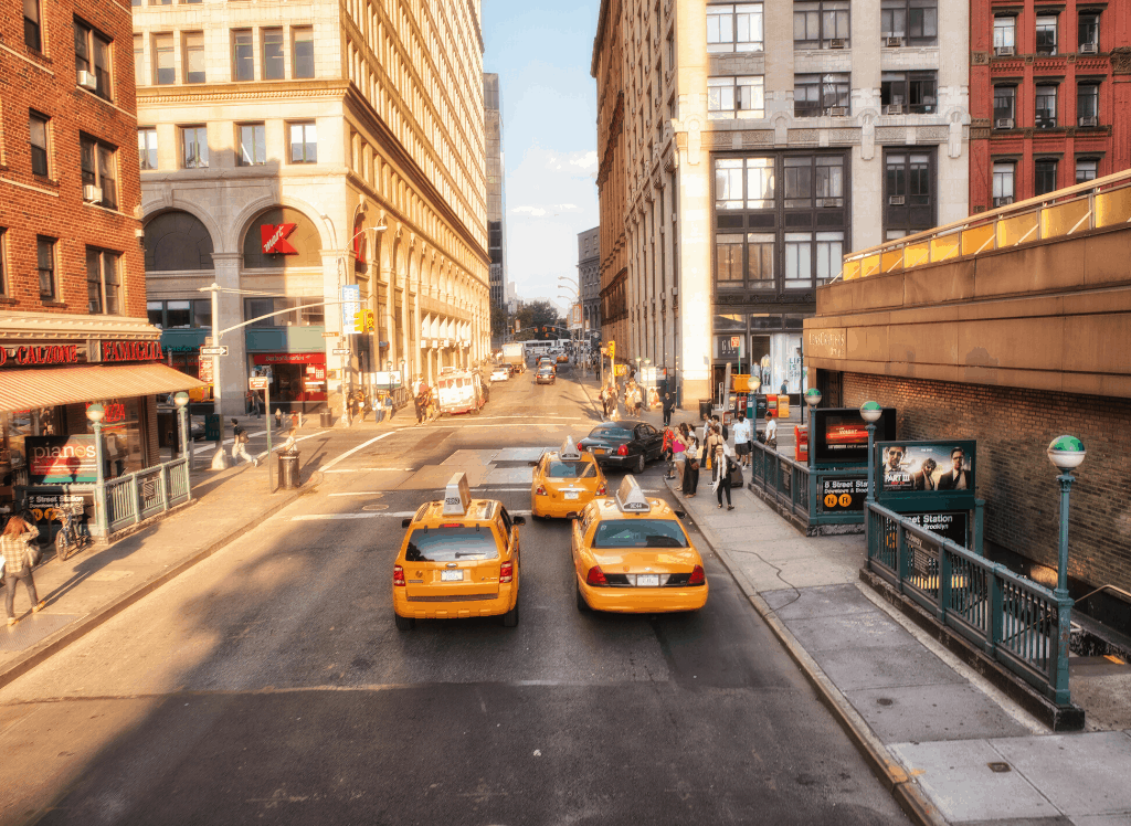 During your 4 days in New York Itinerary, try to avoid cabs and use the subway as much as possible.