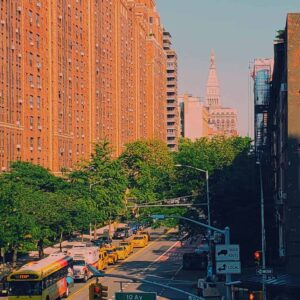 The Gorgeous view you'll get as you walk along the Highline.