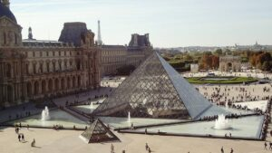 One of my favorite Paris tips is to visit the Louvre on either a Wednesday or Friday evening when crowds are a bit less intense.