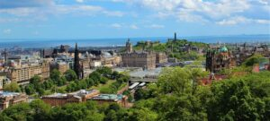 The charm and beauty of Edinburgh, Scotland never cease to amaze me.