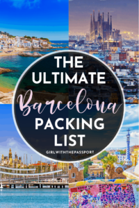 What to Pack for Barcelona | Barcelona Packing List | What to wear in Barcelona | Barcelona Outfits | Barcelona Packing Guide | Barcelona Travel Guide | Barcelona Travel Essentials | Barcelona Travel Tips | Barcelona Travel Guide | Barcelona Spain Travel | Barcelona Spain Guide | Barcelona Tips | Barcelona Itinerary | Europe Travel | Spain Travel #BarcelonaGuide #EuropeTravel #BarcelonaPackingList #BarcelonaTips #BarcelonaOutfits
