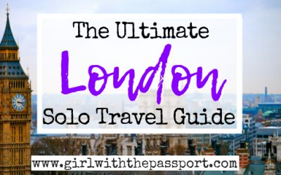 Solo Travel London: 15 Attractions You'll Love
