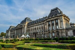 The beautiful Royal Palace of Brussels. One of the many top things to see in Brussels.