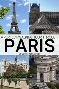 Check out this enchanting and totally free, self-guided walking tour of Paris. A truly unforgettable walking tour of Paris hidden gems, as well as some of the top attractions in Paris. A free map is also included so that you can explore some of the most charming places in Paris. #walkingtour #Paristravel #travelguide #Paristips #parisguide