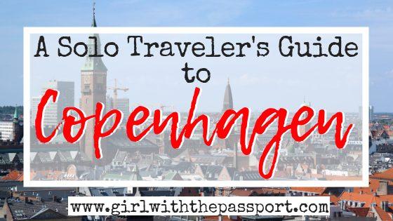 Copenhagen Solo Travel