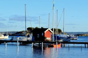 The beauty of the Gothenburg archipelago in Sweden.