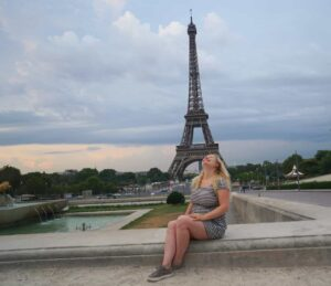 Trocadero is one of my favorite spots to enjoy a beautiful view of the Eiffel Tower.