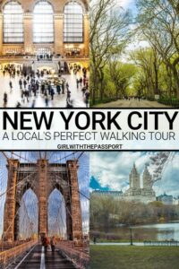 Whether you live in or plan to visit NYC, this is the perfect New York City walking tour for you. Stretching over 40 blocks, this self-guided walking tour will take you past some of the most iconic New York City landmarks. However, this walking tour will also introduce you to some of the hidden gems of NYC that local's love. #walkingtour #walkingtourmap #NYCwalkingtour #NYCtour #NYCtravel