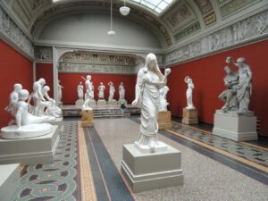 Some of the beautiful statues you can find at Ny Carlsberg Glyptotek in Copenhagen.