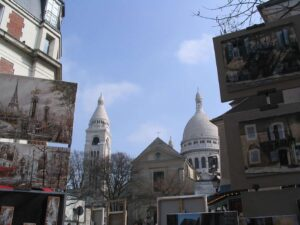 When backpacking Paris, the neighborhood of Montmartre is a must see.