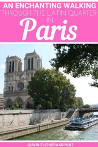 Check out this Paris travel guide filled with Paris travel tips that will help you explore the beautiful neighborhood of the Latin Quarter. Go on this free walking tour of Paris and explore such iconic Paris attractions as Shakespeare and Company, Jardin du Luxembourg, the Pantheon, and more. A fantastic Paris neighborhood that is truly worth a visit. #Paristravel #Paristips #TravelGuide #ParisFrance #TravelFrance
