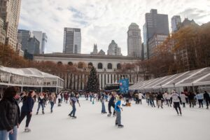 The Winter Village in Bryant Park is one of my favorite Christmas Markets to visit.