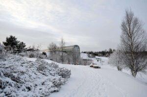The Arktikum Museum in Rovaniemi, Finland.