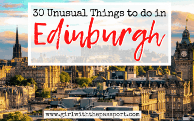 30 Awesome & Unusual Things to do in Edinburgh