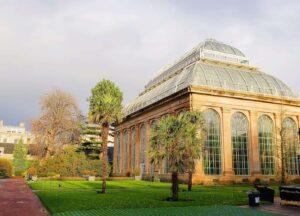 One of the many amazing glasshouses you'll see at the Royal Edinburgh Botanic Gardens.