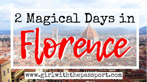 2 Days in Florence Itinerary