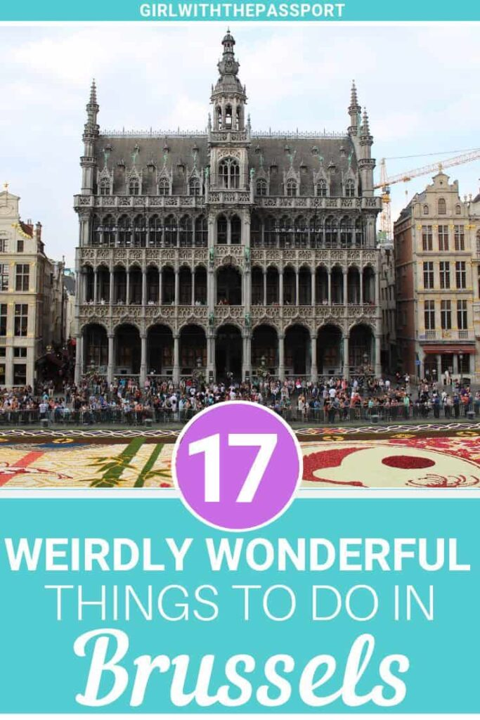 Planning a trip to Brussels, Belgium? Excellent because this city that is perfect for any traveler. Among various things to do in Brussels, here are 15 of my favorite, unusual things to do in Brussels like Atomium, the Comic Strip Museum, the Royal Palace and more. #Brussels #Belgium #travel #wanderlust #Europe