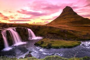 You can visit Kirkjufellsfoss as a stop on the Iceland Ring Road or as a day trip from Reykjavik.