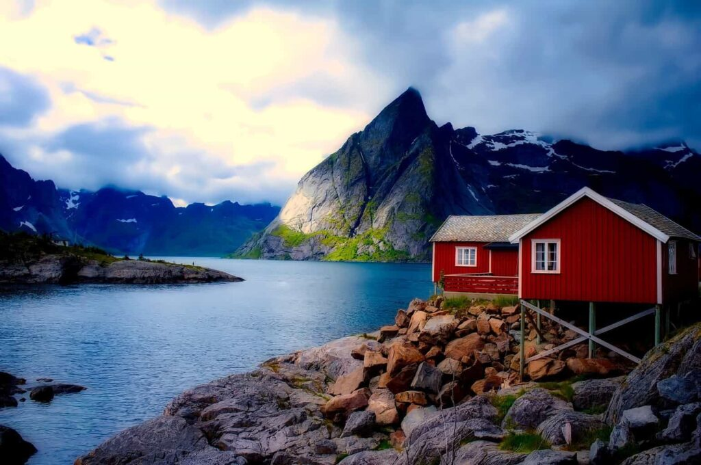 Natural beauty like this is why things in Norway fill up so quickly.