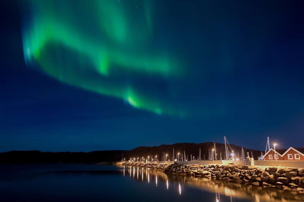 Make sure to get out into nature and enjoy the natural beauty fo the northern lights in Norway