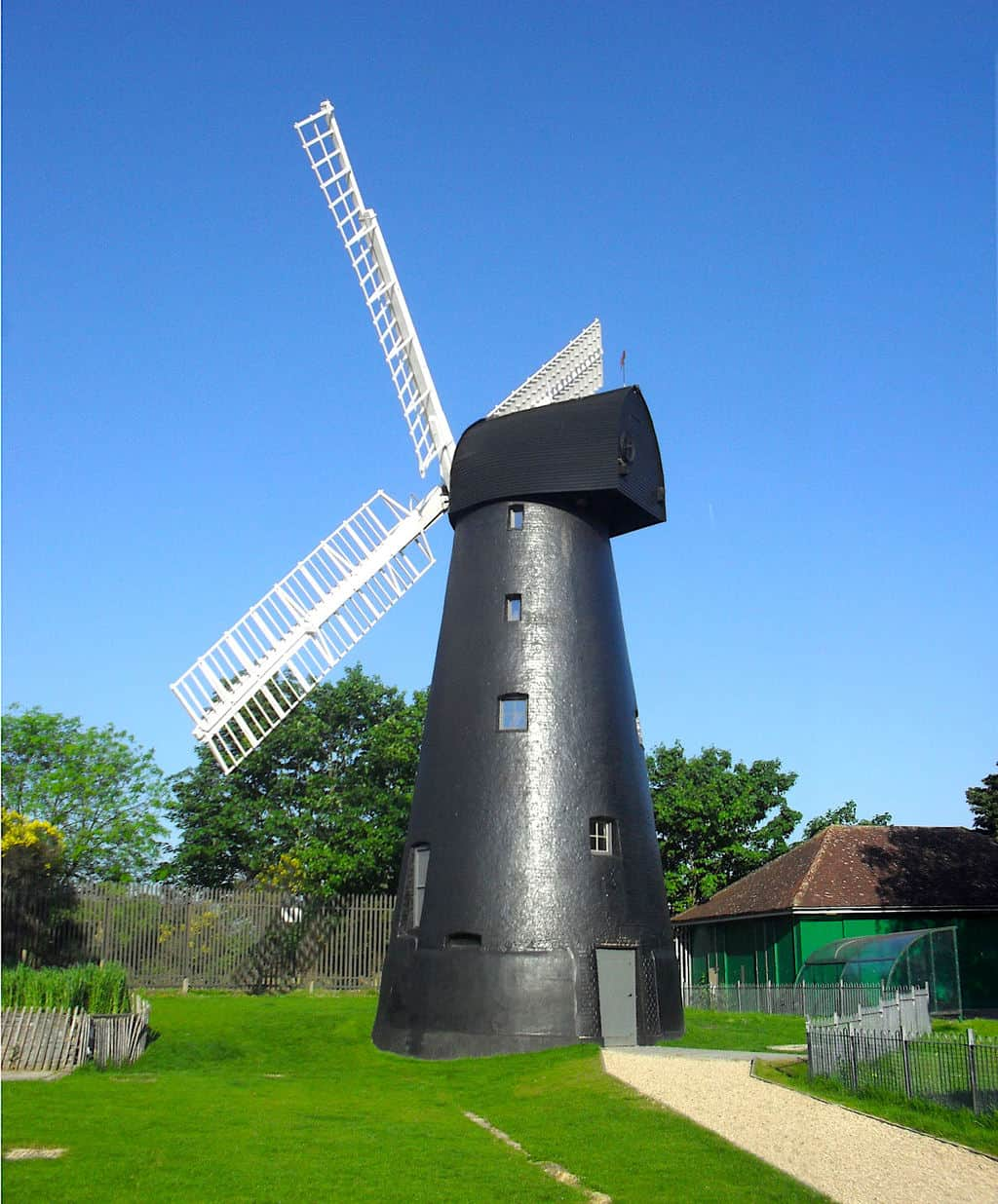 The Brixton Windmill is the oldest and last, fully functioning windmill in London.