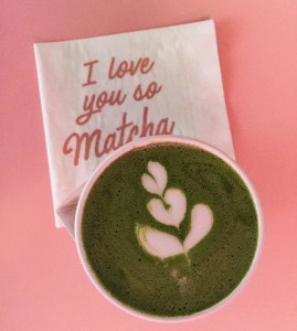 Best coffee NYC? Cha Cha Matcha which is a fun and friendly cafe that sells matcha and coffee!