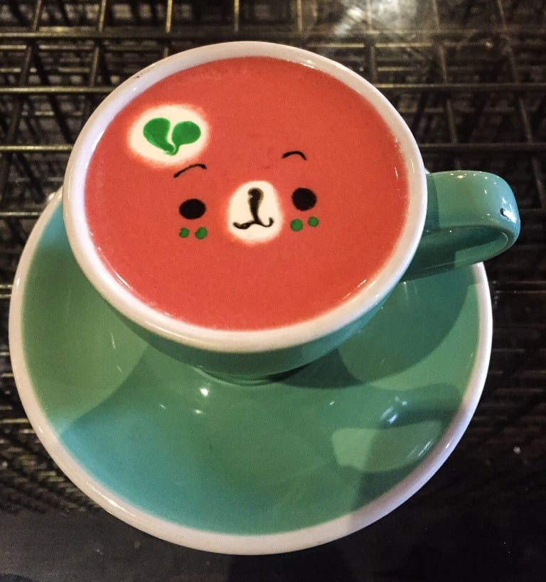 The sweetest cup of tea that I ever did see! (Get it? Because you can find this at SWEET Moment cafe?)
