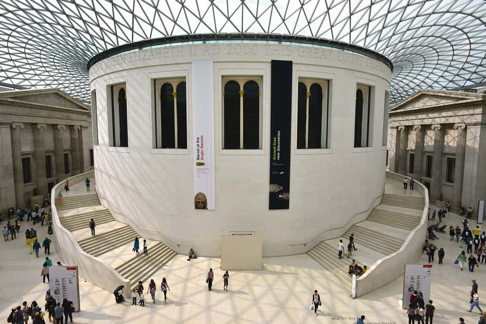 Be sure to stop by the British Museum and capture the architectural beauty of this amazing building.
