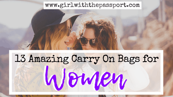 13 Amazing Carry On Bags for Women