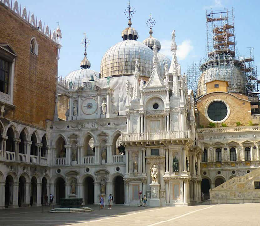 The ethereal beauty of St. Doge's Palace is a must see during your one day in Venice.