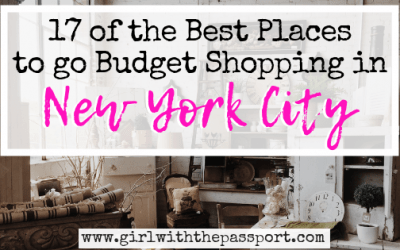 17 of the Best Places to Shop in NYC on a Budget (with SECRET tips from a local New Yorker)