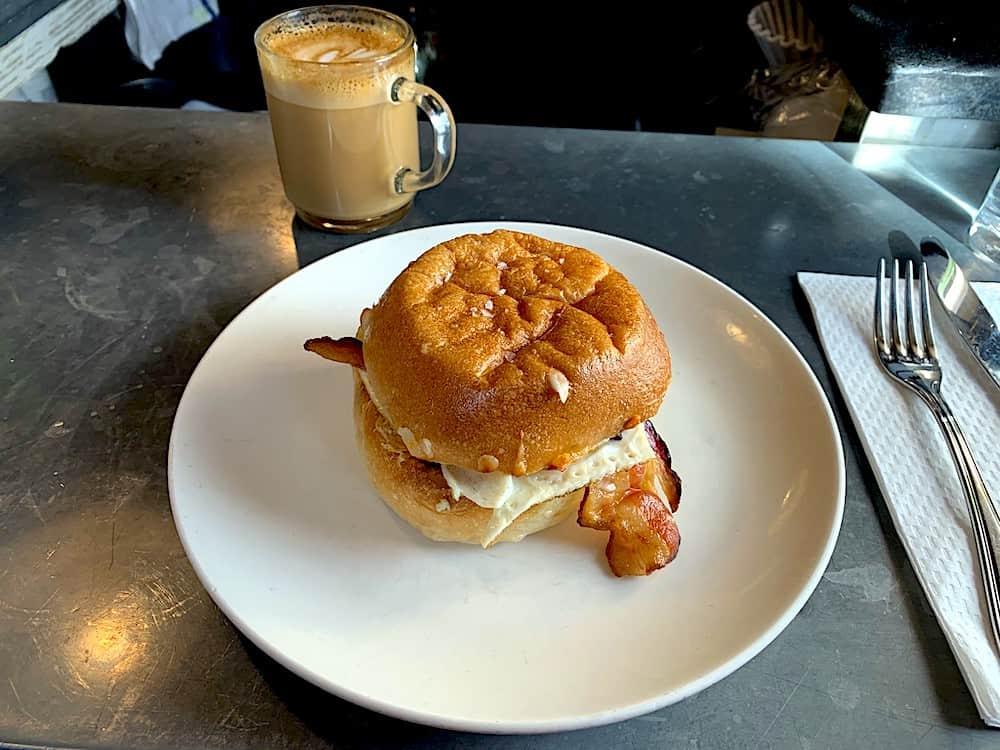 Sandwich from Egg Shop in Nolita
