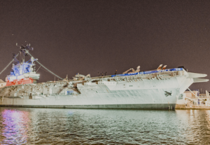 Learn about American naval history at New York City's one and only, Intrepid Air and Space Museum.