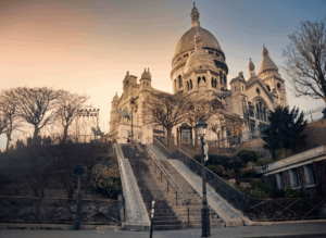 Montmartre is a must-see neighborhood when you solo travel Paris...but maybe not at night...when you're all alone.