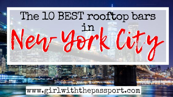 10 Top Rooftop Bars in NYC