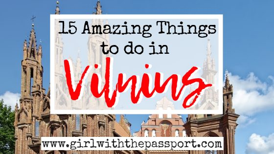 What to do in Vilnius, Lithuania